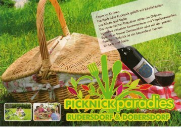 Picknickparadies Rudersdorf - Burgenland schmeckt