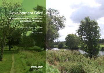 Appendix 1 - Development Brief