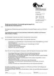 Stellenausschreibung_VM_Kulturzentrum - AStA - Universität Potsdam