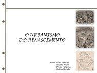 O URBANISMO DO RENASCIMENTO - Histeo.dec.ufms.br