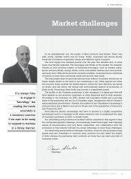 Market challenges - Fédération des producteurs de lait du Québec