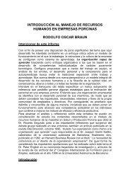formación de recursos humanos en la empresa porcina - Centro de ...