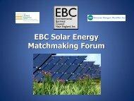05-23-2012 EBC Solar Matchmaking Forum - Environmental ...