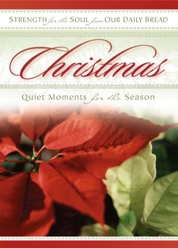 Christmas Strength for the Soul (PDF) - RBC Ministries