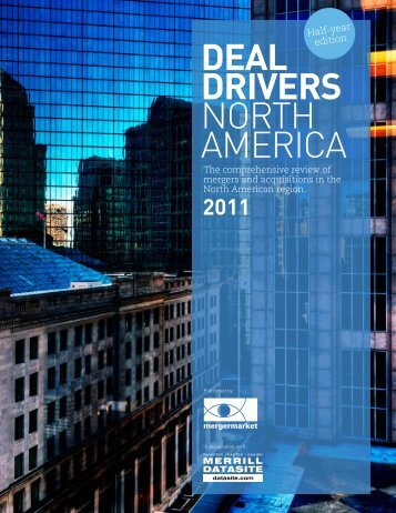 DEAL DRIVERS NORTH AMERICA - Mergermarket