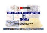 ADMINISTRADO - Ministerio de Vivienda, Construcción y ...