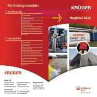 Krügers nøgletal 2010 - Krüger A/S
