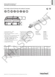 PCA T5 EXCEL one4all 24–80 W 220–240 V 50/60/0 Hz ... - Tridonic