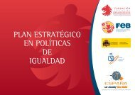 PLAN ESTRATÉGICO EN POLÍTICAS DE IGUALDAD