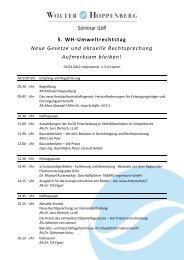Konzept PPP/ÖPP-Workshop - Wolter Hoppenberg