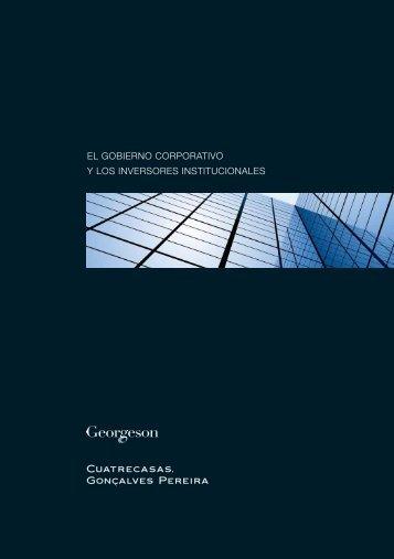 el gobierno corporativo y los inversores institucionales - Cuatrecasas
