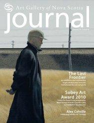 Sobey Art Award 2010 The Last Frontier - Art Gallery of Nova Scotia