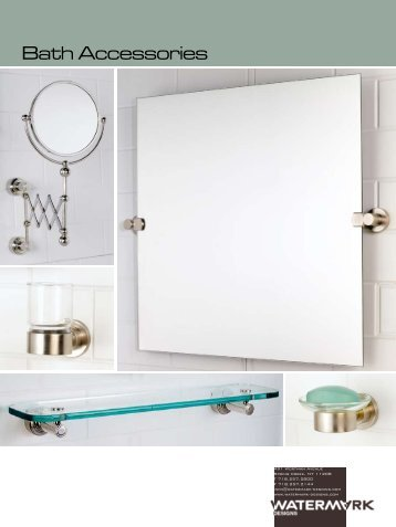 Bath Accessories Catalog   Watermark Designs. Watermark Designs Debuts  Blue  Faucet