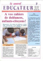 A vos cahiers de doléances, enfants-citoyens! Bicentenaire - Icem