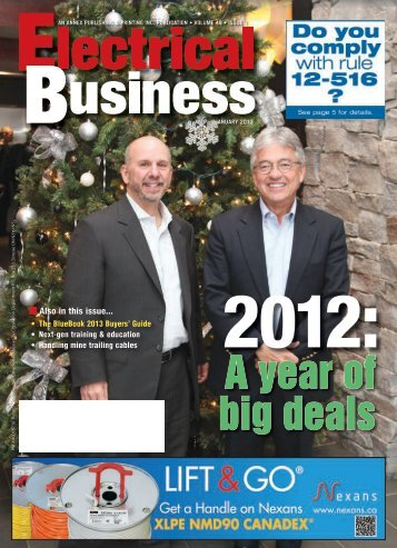 Also in this issue... - Electrical Business Magazine