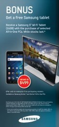 Get a free Samsung tablet