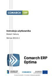 Comarch ERP Optima - Faktury