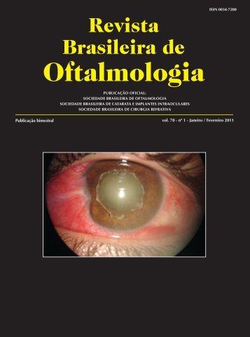 Jan-Fev - Sociedade Brasileira de Oftalmologia