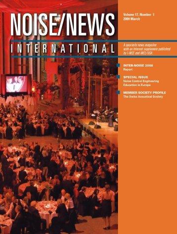 March 2009 - Noise News International