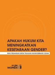 apakah hukum kita meningkatkan kesetaraan gender? - CEDAW ...