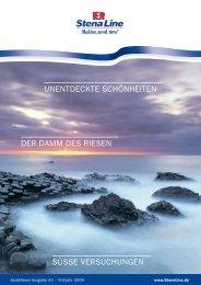 Stena line | Sea&News | Ausgabe 43, Frühjahr 2009