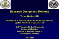 Research Design and Methods - VascularWeb