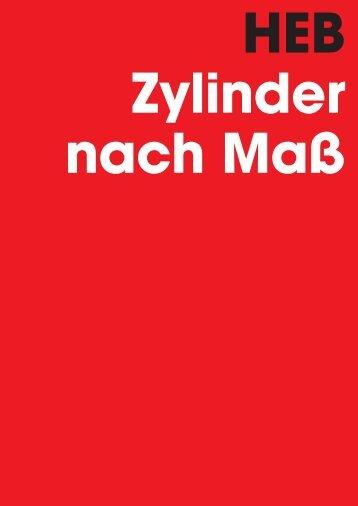 Programmübersicht - HEB Hydraulik - Elementebau GmbH