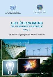 les économies de l'afrique centrale - United Nations Economic ...