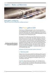 Kap. 3 – Pressearbeit und Materialeinsatz (8 Seiten) – als pdf-Datei