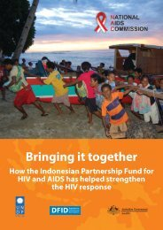 Bringing it together How the Indonesian Partnership Fund ... - UNDP