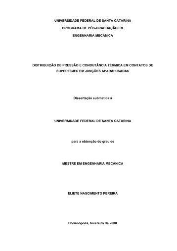 universidade federal de santa catarina programa de pós-graduação ...