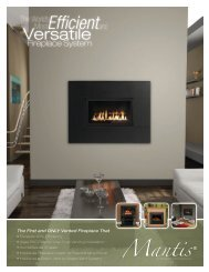 Fireplace System - Mantis