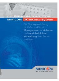 Ihre KVM- und Serial Verwaltungszentrale - HETEC Datensysteme ...
