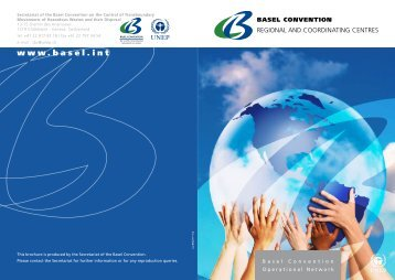 Basel Convention Regional and Coordinating Centres