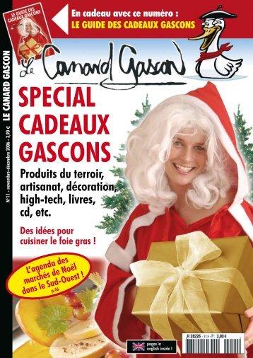 SPECIAL CADEAUX GASCONS - Le Canard Gascon