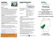 Flyer und Einladung - BVKJ Kongresse