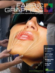 Fabric Graphics, March/April 2007, Digital Edition - Specialty Fabrics ...