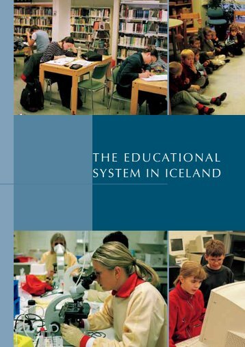 THE EDUCATIONAL SYSTEM IN ICELAND