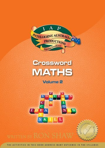 crosswords - Australian Teacher