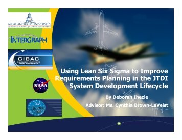 Lean Six Sigma - Morgan State University