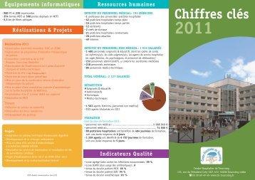 Réalisations 2011 Travaux Projets - Centre Hospitalier de Tourcoing