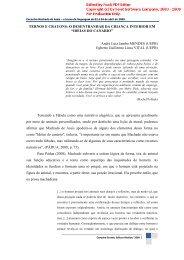 TERNOS E CRAYONS - Artigo Científico