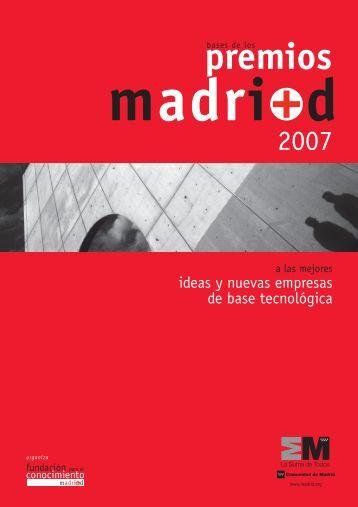 Ideas y Nuevas Empresas de Base Tecnológica - Madri+d