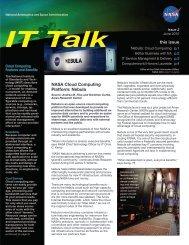 this issue NASA Cloud Computing Platform: Nebula