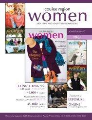 2013 Coulee Region Women Media Kit - Coulee Region Women's ...