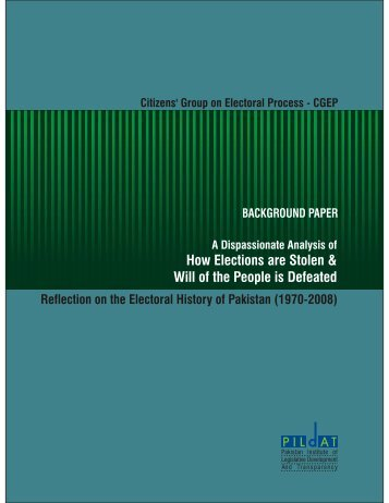 Download How Elections Are Stolen [PDF] - Pildat.org