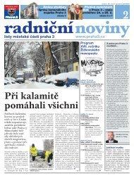 Radniční noviny - Praha 3