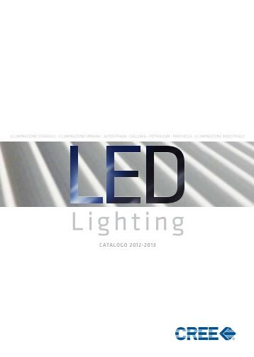 Outdoor LED Lighting (2012) - Cree