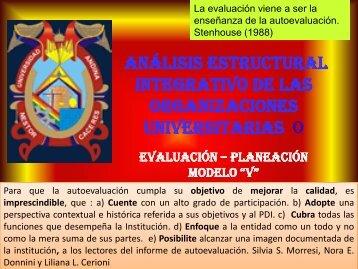 Evaluación - Planeación Modelo V - Universidad Católica de Santa ...