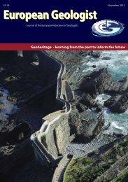 European Geologist European Geologist Geoheritage - SCNAT